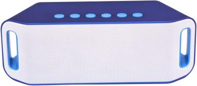 Adcom Mini Bluetooth -S204 Blue Bluetooth Home Audio Speaker