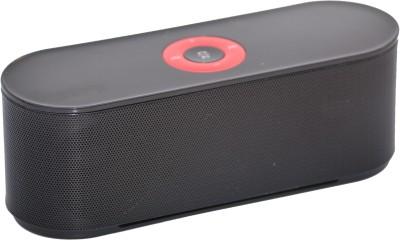 Adcom Mini Bluetooth -S207 Black Bluetooth Home Audio Speaker