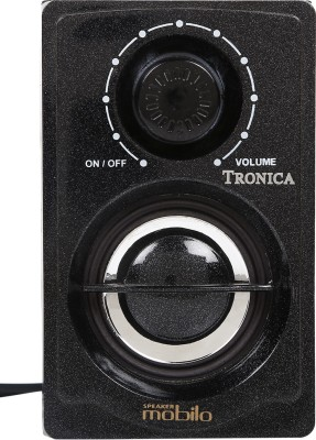 Tronica Solid Charm Home Audio Speaker(Black-01, 1.1 Channel)