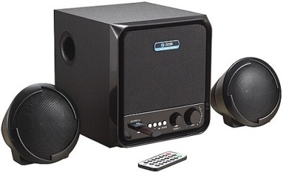 Zoook 2.1 Speakers ZM-SP3300 (FM/SD/USB) Portable Laptop/Desktop Speaker(Black, 2.1 Channel)
