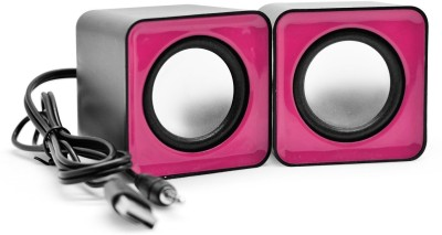 ShopSwipe Mini Portable Classic Multimedia Speaker Powered by USB 2.0 and 3.5mm Jack for Sound Output Combo Set