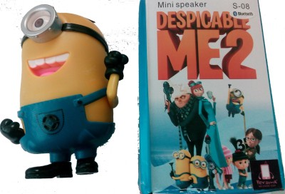 PERSONA DESPICABLE ME2 MINI SPEAKER WITH BLUETOOTH Portable Laptop/Desktop Speaker