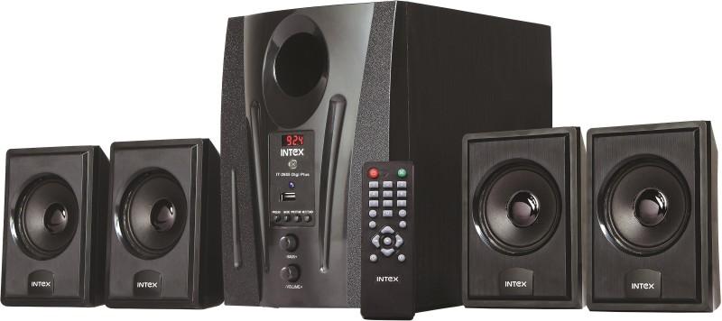 Intex IT-2655 DIGI PLUS Laptop/Desktop Speaker(Black, 4.1 Channel)