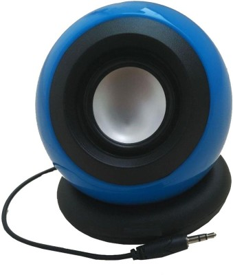 Ad Net 3.5mm (1.1 Channel) Portable Mobile/Tablet Speaker(Blue, 1.1 with 3.5mm jack Channel)