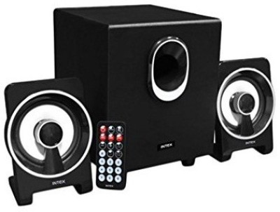 Intex IT-1650 BT Multimedia Bluetooth Bluetooth Laptop/Desktop Speaker(Black, 2.1 Channel)