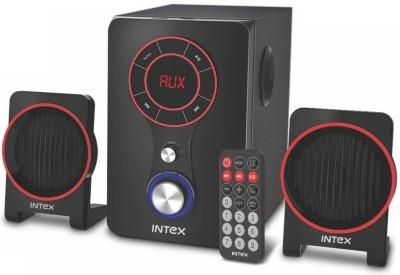 Intex IT-211 TUF Multimedia Portable Bluetooth Laptop/Desktop Speaker(Black, 2.1 Channel)