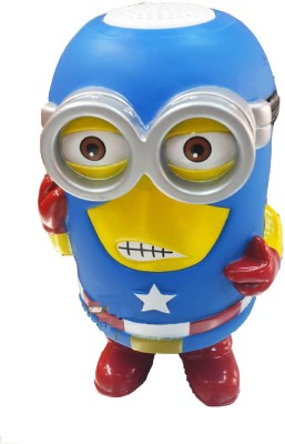 SG 2329 Minions Bluetooth Speaker Portable Bluetooth Laptop/Desktop Speaker