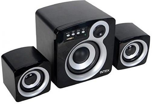 Intex IT-850U Multimedia Laptop/Desktop Speaker(Black, 2.1 Channel)