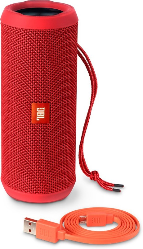 JBL FLIP 3 RED Portable Bluetooth Laptop/Desktop Speaker(Red, 4.1 Channel)
