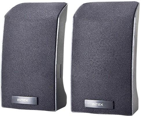 Intex IT-312U Portable Laptop/Desktop Speaker(Black, 2.0 Channel)