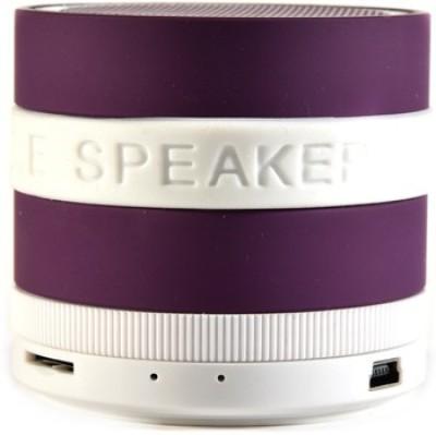 Qline JL700FM - Purple Portable Bluetooth Laptop/Desktop Speaker