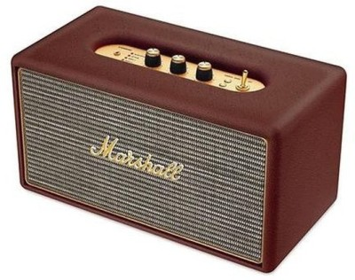 Marshall Stanmore Wired Home Audio Portable Bluetooth Mobile/Tablet Speaker(Brown, 1 Channel)