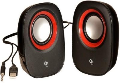 Q3 USB Powered RZ-380 Multimedia 2.0 Portable Laptop/Desktop Speaker