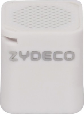 zydeco Battery Portable Bluetooth Laptop/Desktop Speaker(White, 2.0 Channel)