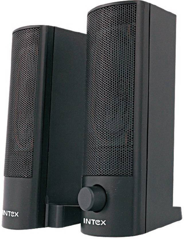 Intex Join It USB 2 in 1 Sound Bar and Mulltimedia Laptop/Desktop Speaker(Black, 2.0 Channel)