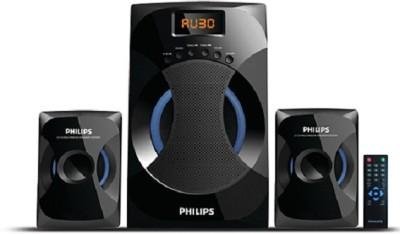 Philips IN-MMS4545B/94 Bluetooth Laptop/Desktop Speaker(Black, 2.1 Channel)