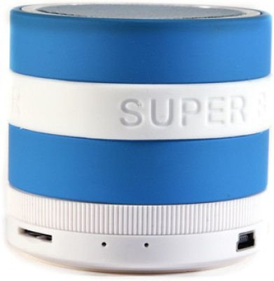 Qline JL700FM - Blue Portable Bluetooth Laptop/Desktop Speaker