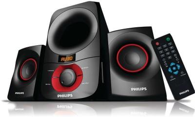 Philips IN-MMS6060F/94 Laptop/Desktop Speaker(Black, 2.1 Channel)