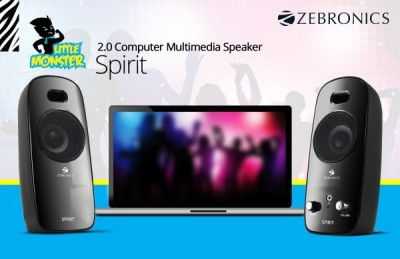 Zebronics Spirit Laptop/Desktop Speaker