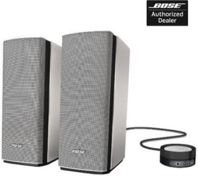 Bose Companion 20 Multimedia Laptop/Desktop Speaker(Silver, 2.0 Channel)