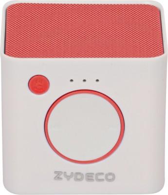 zydeco X3 Portable Bluetooth Laptop/Desktop Speaker(Silver, 2.0 Channel)