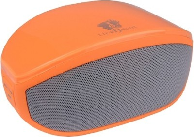 Life N Soul BM-208 O Portable Bluetooth Laptop/Desktop Speaker(Orange, 0 Channel)