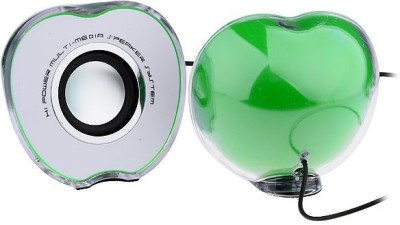 BBC BBC134GREEN Portable Laptop/Desktop Speaker(Green, 2.0 Channel)