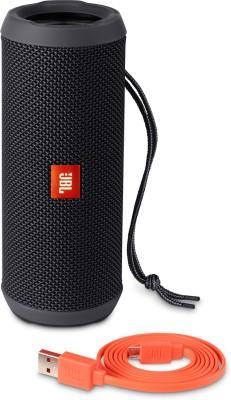 JBL FLIP 3 BLACK Portable Bluetooth Laptop/Desktop Speaker