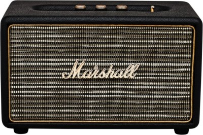 Marshall Acton Single Unit Portable Bluetooth Mobile/Tablet Speaker(Black, 1 Channel)