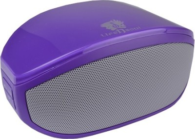 Life N Soul BM208-P Bluetooth w/3.5mm Auxiliary Port Portable Bluetooth Laptop/Desktop Speaker(Purple, 2 Channel)