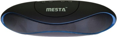 Mesta Bluetooth speaker - Blue mini-1.0 Portable Bluetooth Laptop/Desktop Speaker