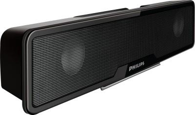 Philips SPA75/94 Laptop/Desktop Speaker(Black, 2 Channel)