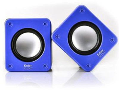 Enter E-S270BL Portable Laptop/Desktop Speaker