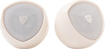 Enter USB 2.0 Speaker White E-S295W Portable Laptop/Desktop Speaker