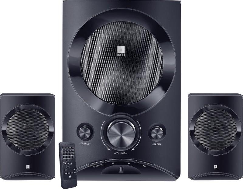 iBall Tarang Lion 2.1 Speakers(Black, 2.1 Channel)