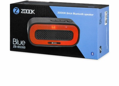 Zoook Brick Bluetooth ZB-BS300 Bluetooth Mobile/Tablet Speaker(Black, 2.0 Channel)