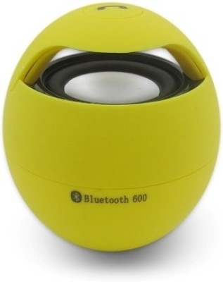 Anwyn with Mic - Aw/Ew-Bss3/102 Bluetooth Mobile/Tablet Speaker(Yellow, 1.0 Channel)