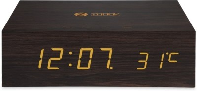 Zoook Bluetooth with Alarm Bluetooth Mobile/Tablet Speaker(Brown, 1.0 Channel)
