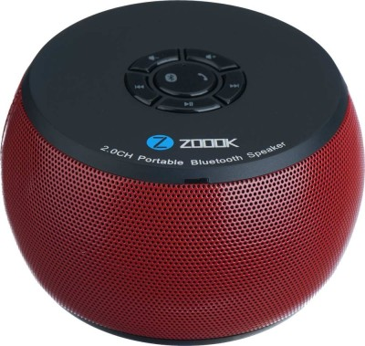 Zoook Bluetooth Speaker ZB-BS100 Red Portable Bluetooth Mobile/Tablet Speaker(Red, 1.0 Channel)
