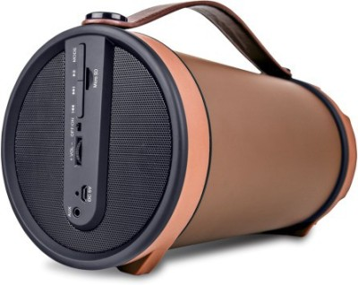 iBall Music Barrel BT31 With FM Radio Portable Bluetooth Mobile/Tablet Speaker(Brown, 4.1 Channel)