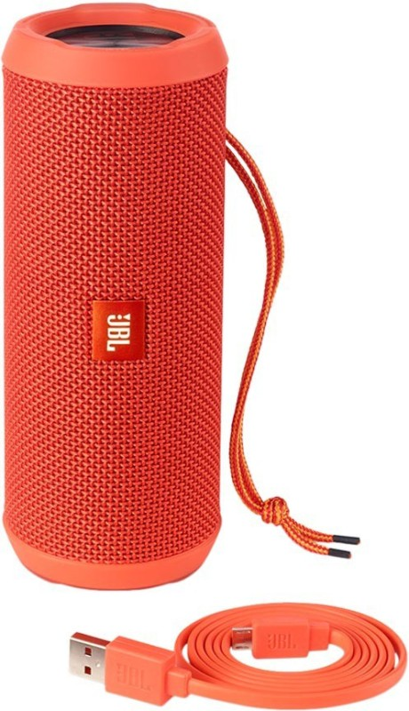 JBL FLIP 3 ORANGE Portable Bluetooth Mobile/Tablet Speaker(Orange, 2.0 Channel)