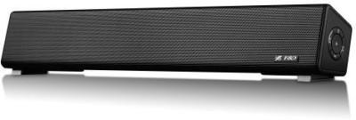 F&D E200 PLUS Portable Bluetooth Mobile/Tablet Speaker(Black, 2.0 Bluetooth minibar Channel)