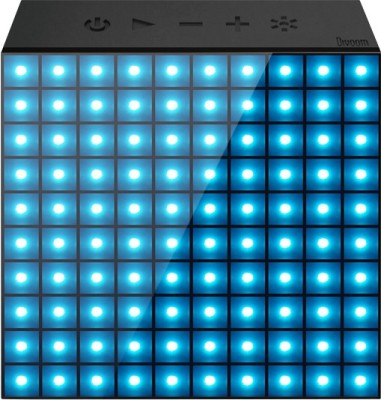 Divoom AuraBox Bluetooth Mobile/Tablet Speaker(Black, 1 Channel)