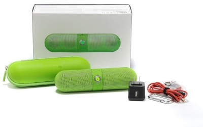 Fingers Limited Edition Pill Big Sound Box Green Portable Bluetooth Mobile/Tablet Speaker