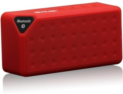 Adcom Mini-X3 Wireless_Red Portable Bluetooth Mobile/Tablet Speaker