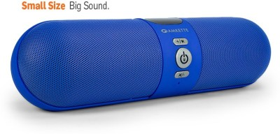 Amkette Trubeats iGO Ultra Portable Portable Bluetooth Mobile/Tablet Speaker(Blue, 2.0 Channel)