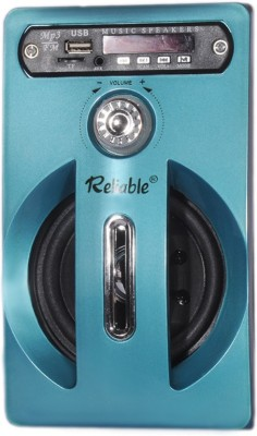 Reliable Sound box MP3 FM Radio SD Card reader USB Mobile/Tablet Speaker(Blue, 2.1 Channel)