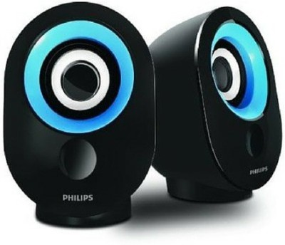 Philips SPA50B/94 Portable Mobile/Tablet Speaker(Blue & Black, 2.0 Channel)