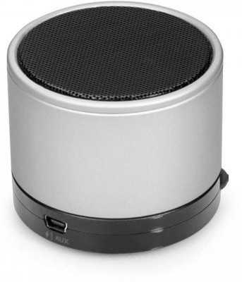 Capdase Bluetooth Speaker (Silver) Mobile/Tablet Speaker