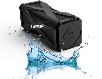 Jango A-6 Water-Proof Sound Bomb With Inbuilt 4000mAh Power Bank(Supports BLuetooth,Aux-in,TF Card) Portable Bluetooth Mobile/Tablet Speaker(Black, Stereo Channel)